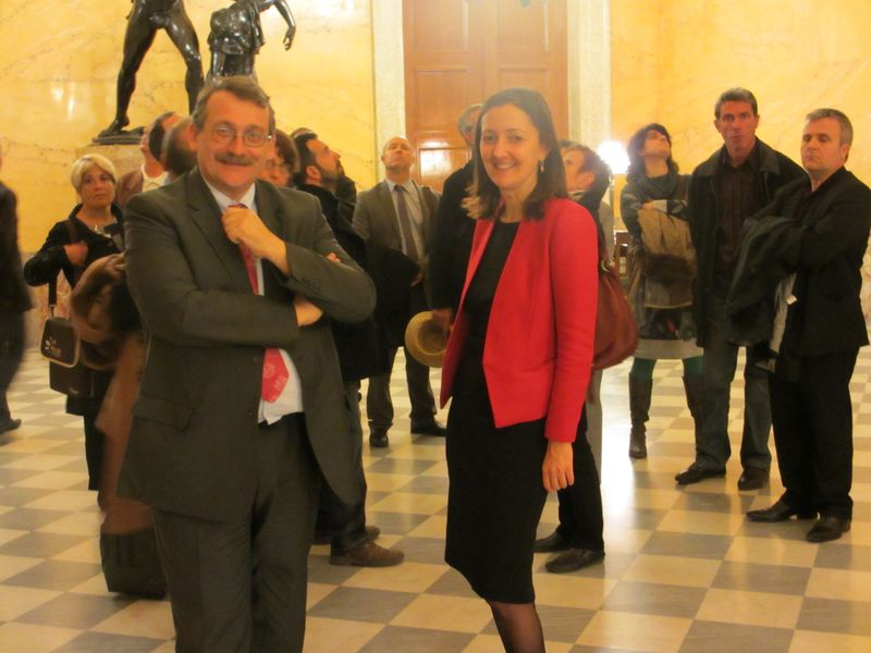 Les élus haut-alpins visitent l'Assemblée Nationale
