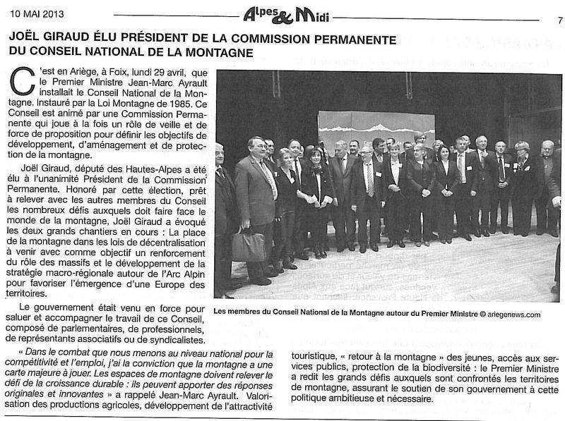 Alpes et midi pt CP du CNM 100513