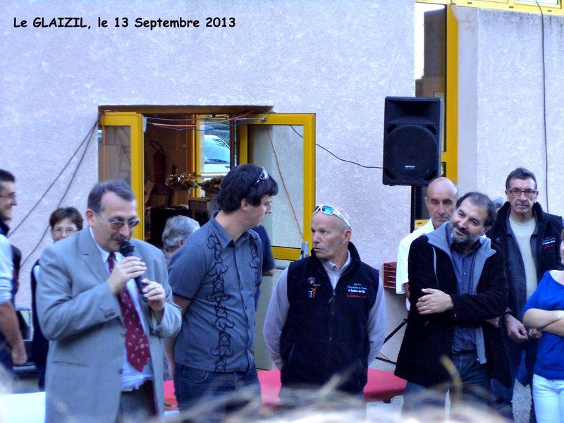 Inauguration CFCE J. Giraud