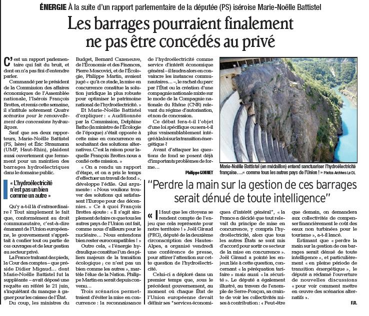 Rapport hydro dauphiné libéré 220913