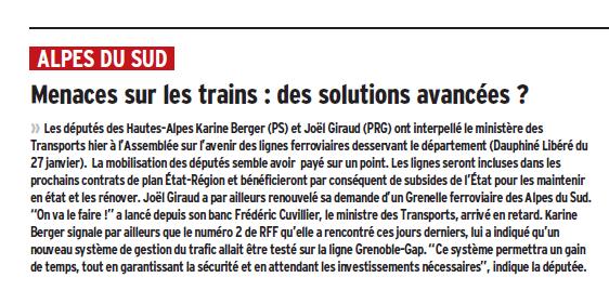 Trains DL 290114