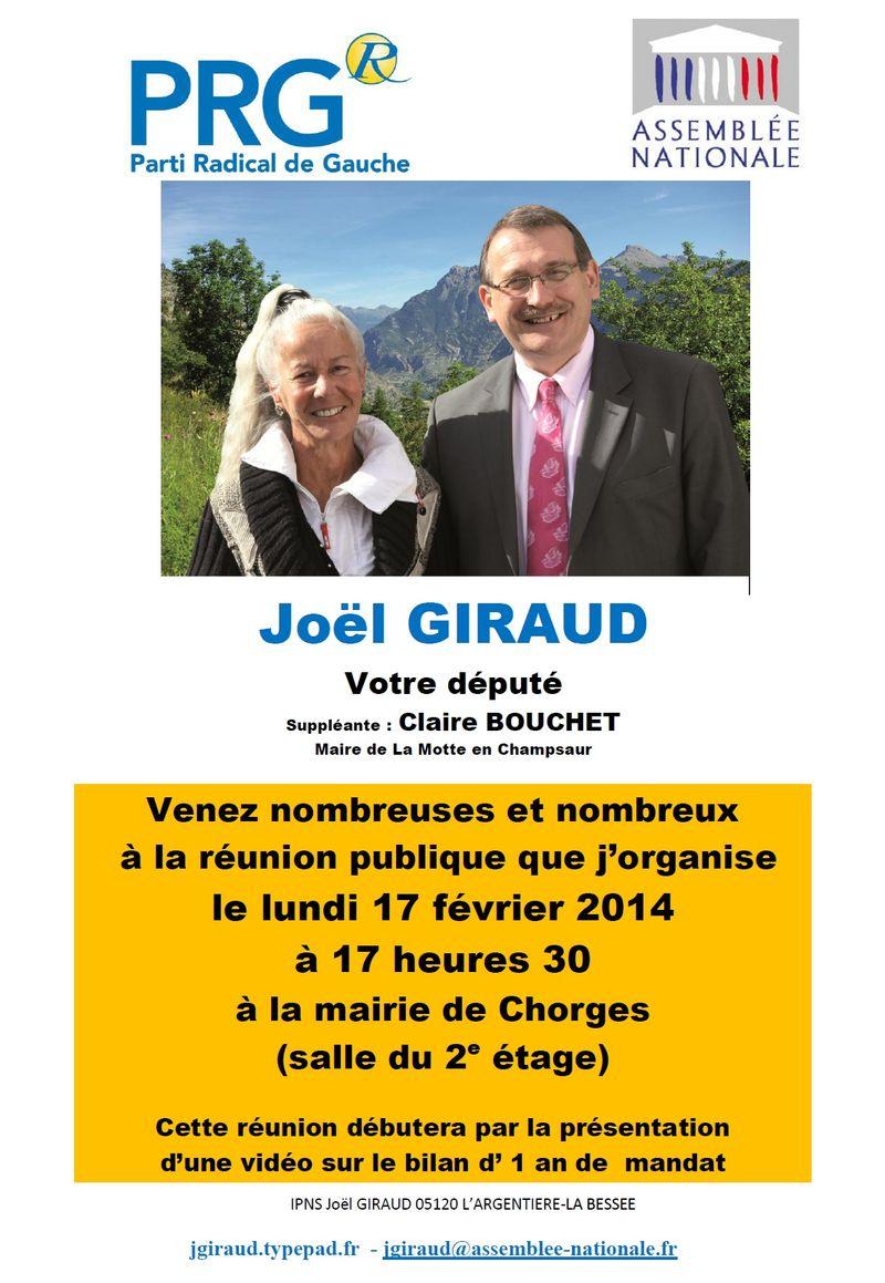 Réunion chorges 170214
