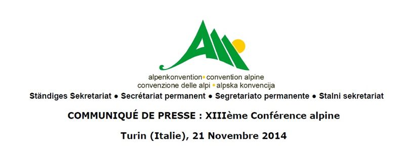 Convention alpine