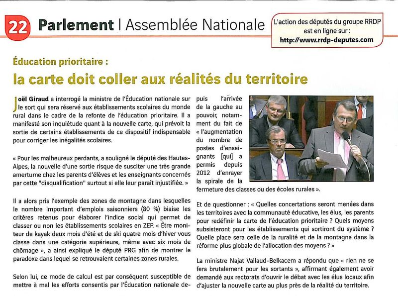 Radical 031114 éducation prioritaire
