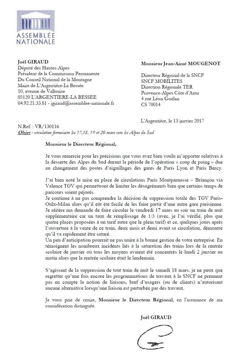 Lettre de JG à la SNCF  130117