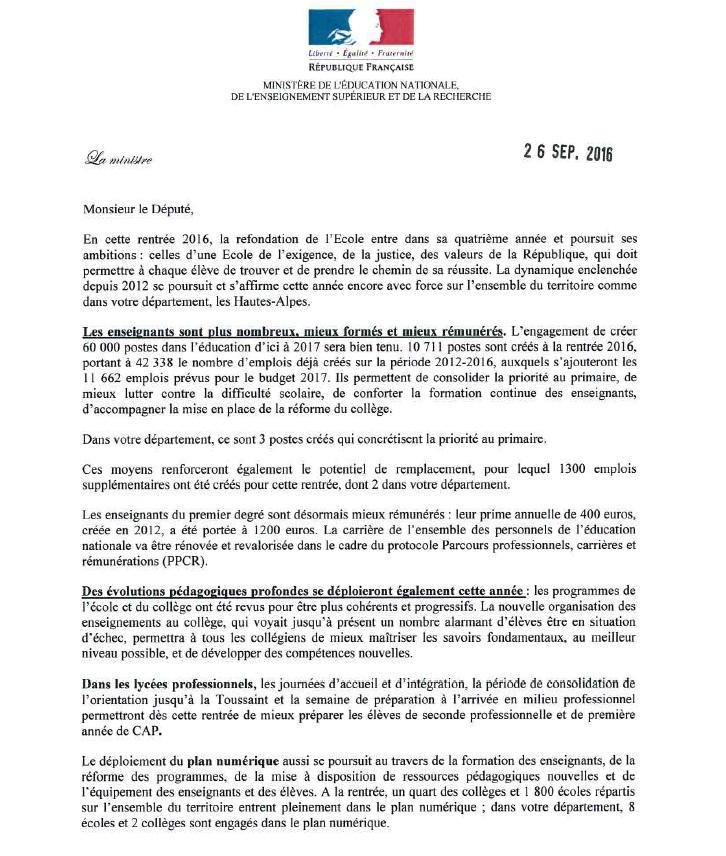 Ministère EN 260916 pt rentrée scolaire 05 p1