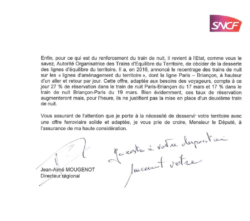 Réponse SNCF page 2